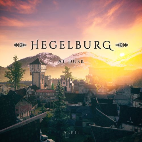 Hegelburg at Dusk