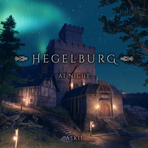 Hegelburg at Night